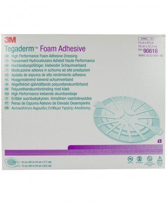 Tegaderm High Performance Heel Foam Adhesive Dressing