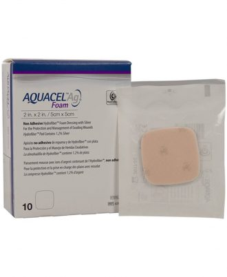 Aquacel Ag Non-Adhesive Foam Dressing