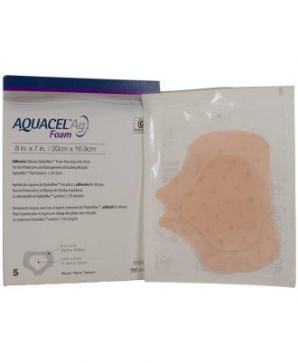 Aquacel Ag Sacrum Adhesive Foam Dressing