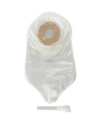 ActiveLife One-Piece Urostomy Pouch with Durahesive Skin Barrier and Accuseal Tap