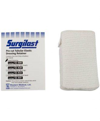 Surgilast Pre-Cut Tubular Elastic Dressing Retainer