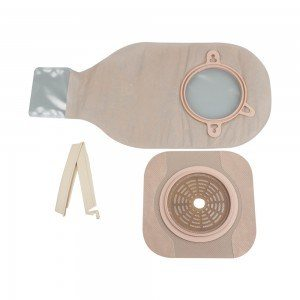 New Image Two-Piece Drainable Pouch With FlexWear Skin Barrier, Non-Sterile Single Use Kit