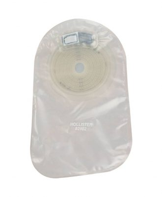 Premier One-Piece Closed Pouch with Oval SoftFlex Skin Barrier
