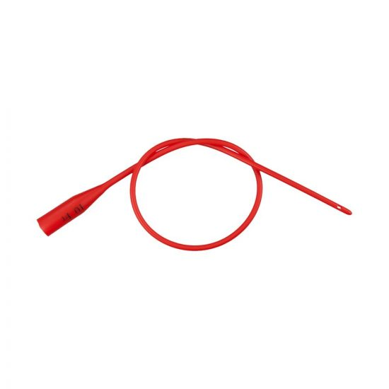 Dover Red Rubber Robinson Urethral Catheter