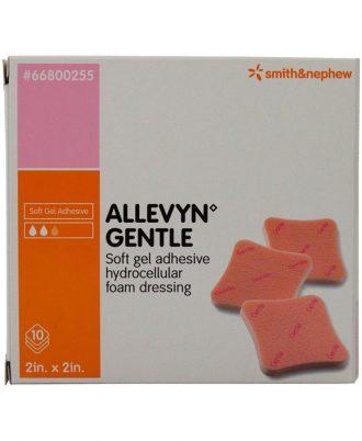 Allevyn Gentle Adhesive Hydrocellular Foam Dressing