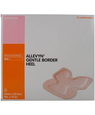 Allevyn Gentle Border Heel Foam Dressing