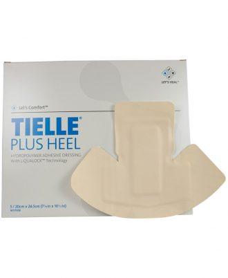 Tielle Plus Adhesive Heel Foam Dressing