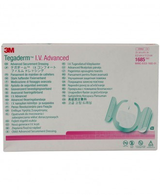 Tegaderm I.V. Advanced Securement Dressing With Comfort Adhesive Technology