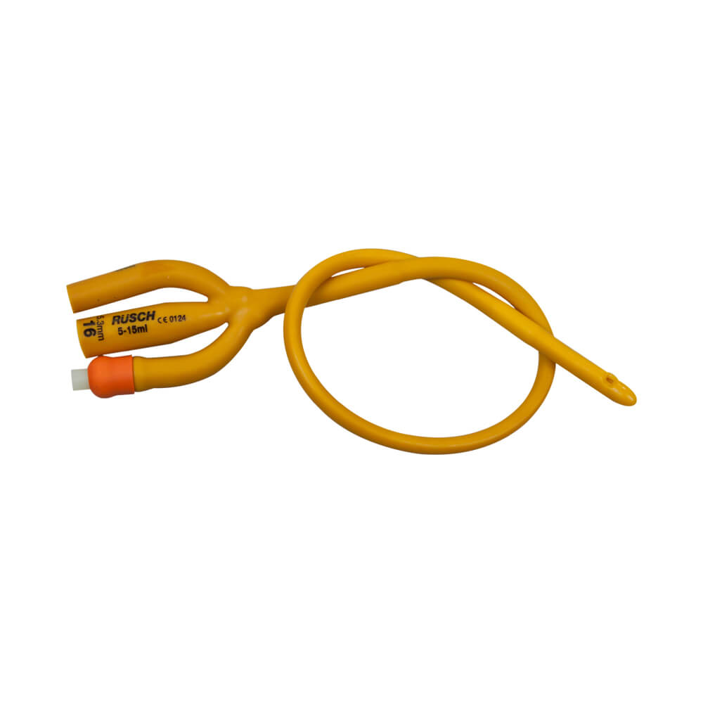 rusch gold 3 way silicone coated latex foley catheter medical monks