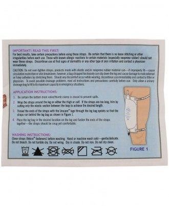 Urocare Universal Leg Straps