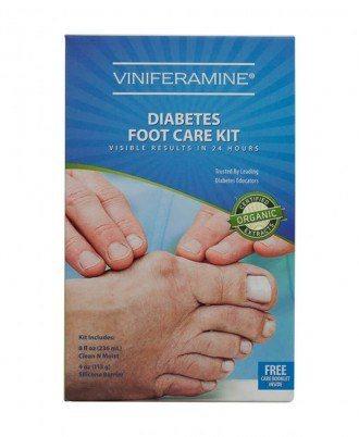 Viniferamine Diabetes Foot Care Kit