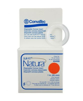 Sur-Fit Natura Disposable Convex Inserts