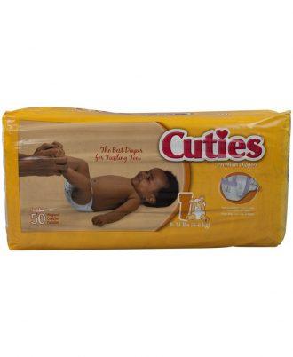 Cuties Baby Diapers: Premium Absorbency