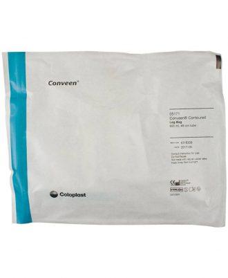 Security+ Contoured Leg Bag with Non-Latex Fabric Leg Bag Straps