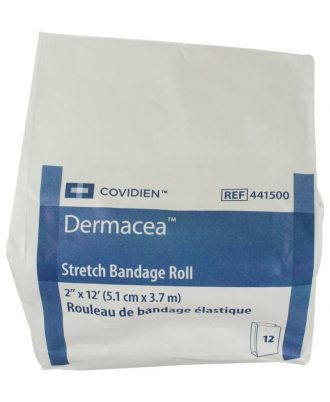 Dermacea Stretch Bandage Rolls, Non-Sterile