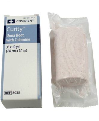 Curity Unna Boot Bandage with Calamine