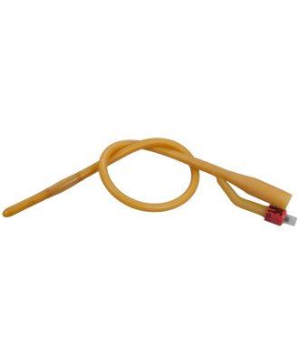BARDEX Silicone Elastomer Coated 2-Way Foley Catheter