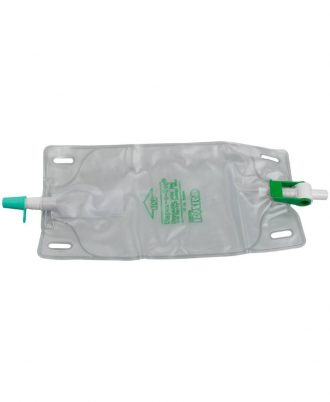 DISPOZ-a-BAG Urinary Leg Bag With Flip-Flo Valve