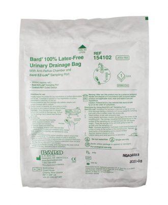 Bard 100% Latex Free Urinary Drainage Bag