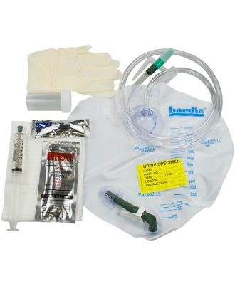 Bardia Add-Foley Tray for use with 5CC Catheters
