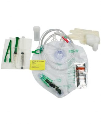 Lubri-Sil 100% Latex-Free Foley Catheter Tray