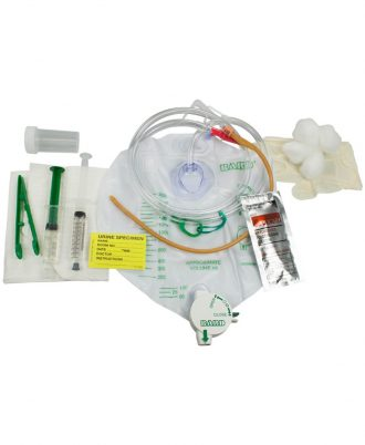 Lubricath Safety Flow Foley Catheter Tray
