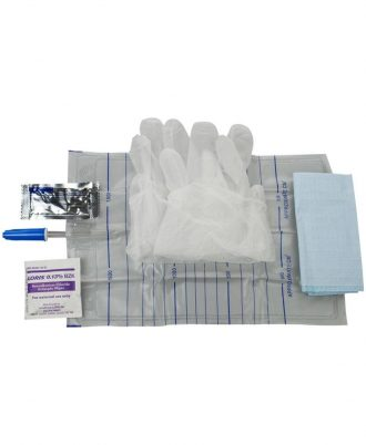 Cure Catheter Insertion Kit With Universal Connector On The Bag