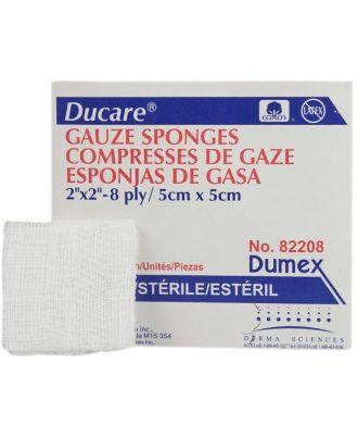 Ducare Woven Gauze Sponges, Sterile