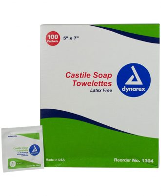 Dynarex Castile Soap Towelette