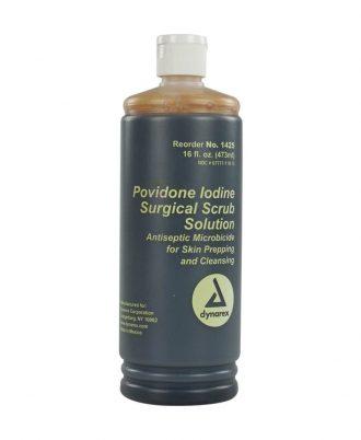 Dynarex Povidone-Iodine Scrub 7.5 % Iodine Solution