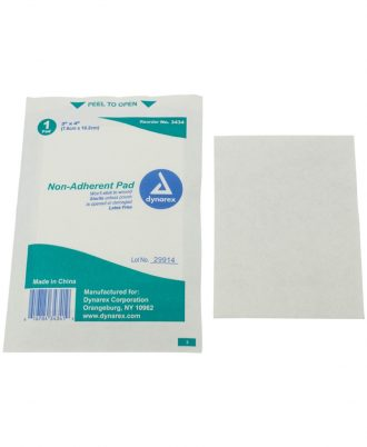 Dynarex Non-Adherent Pads