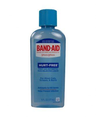 BAND-AID Hurt-Free Antiseptic Wash