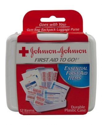 Johnson & Johnson First Aid Kit To Go Mini