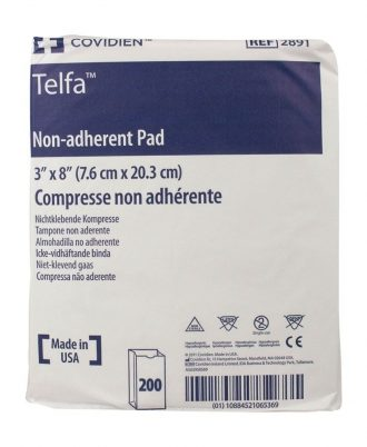 "Telfa ""Ouchless"" Non-Adherent Dressing, Non-sterile"