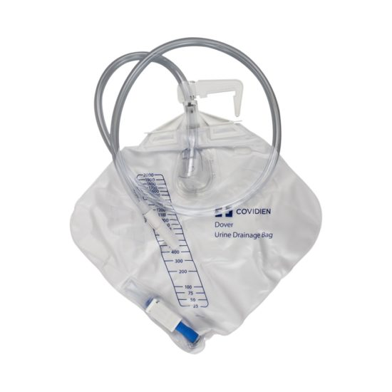 """Dover Urine Drainage Bag with 40"""" Tubing"""
