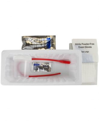 Dover Urethral Open Tray with BZK Swab