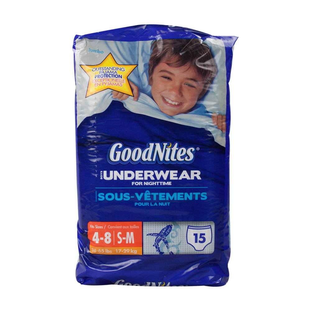 GoodNites Underwear for Nightime
