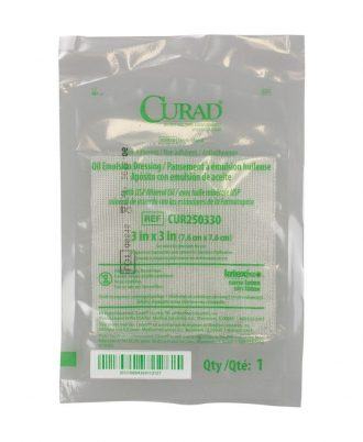 CURAD Oil Emulsion Impregnanted Gauze