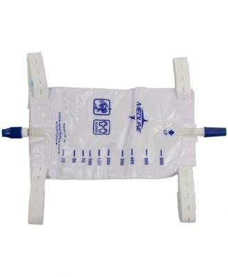 Medline Urinary Leg Bag with Twist Valve