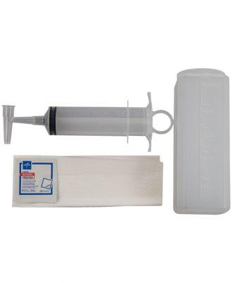 Medline Sterile Piston Irrigation Syringe Tray