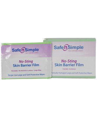 Safe n' Simple No Sting Skin Barrier Film - Large