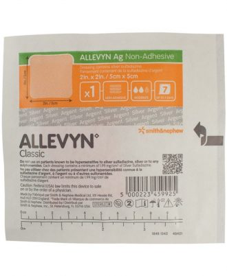 Allevyn Ag Non-Adhesive Silver Wound Dressing