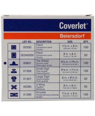 Coverlet Bandage- Oval